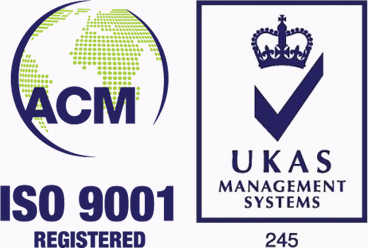 ISO 9001 Registered - UKAS Management Systems